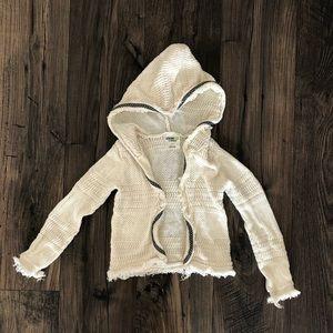 Oshkosh Hooded Open Cardigan